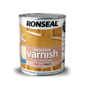 Ronseal Interior Coloured Gloss Varnish From